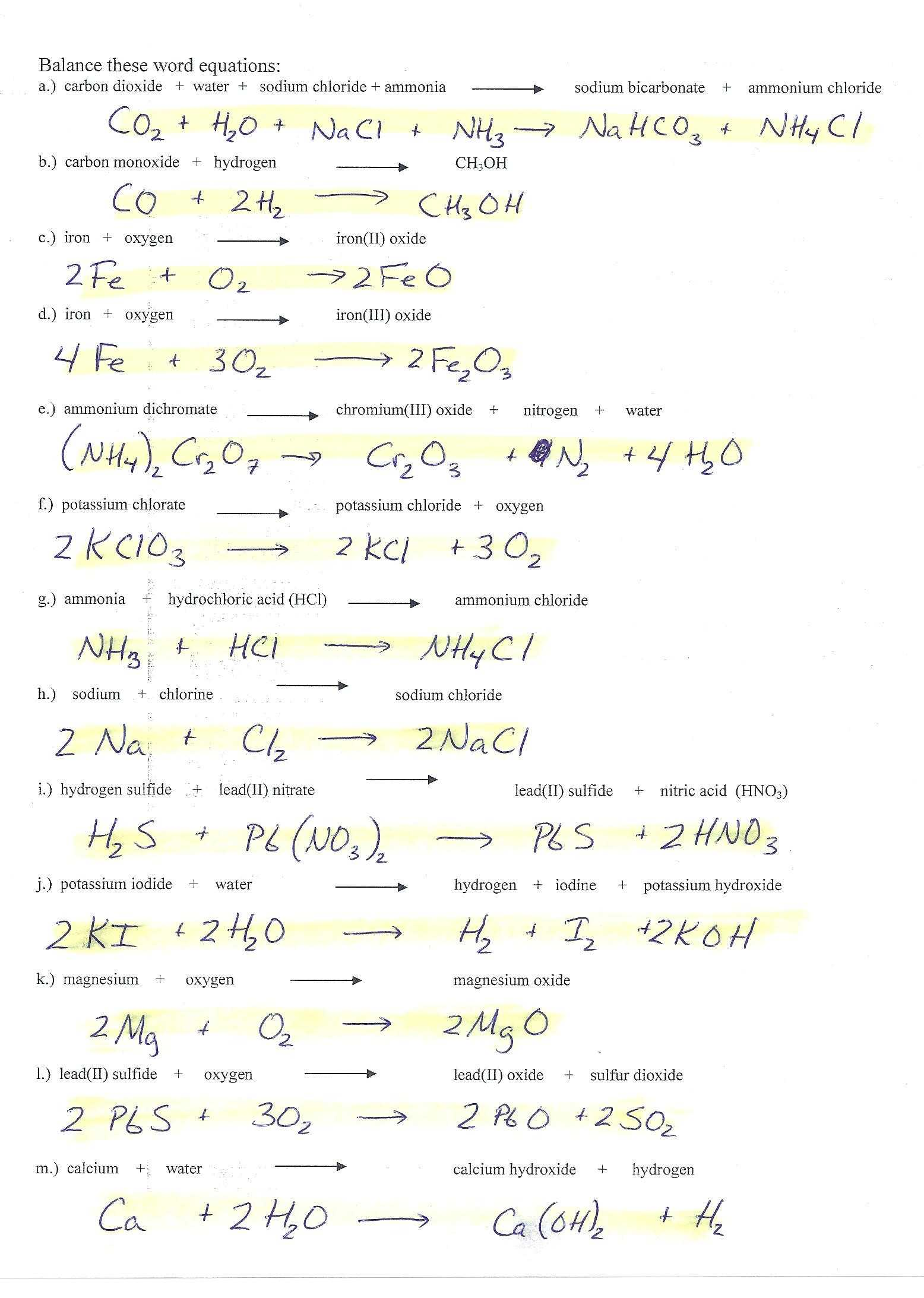Naming Ionic Compounds Worksheet Pogil