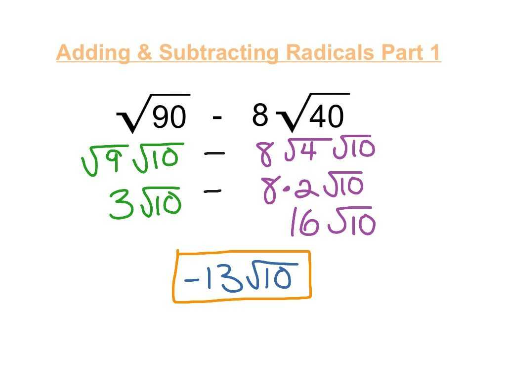 Adding and Subtracting Equations Worksheet Also Kindergarten Adding Subtracting Radicals Worksheet Image W
