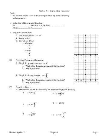 Algebra 2 Chapter 7 Review Worksheet Answers Along with Algebra 2 Chapter 8 Review Answers Wilsonsd