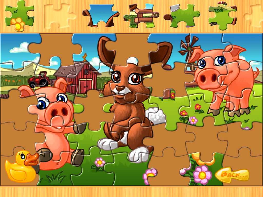 Animal Farm Worksheets Along with Animal Puzzle Pour Enfants Animaux De La Ferme Classements