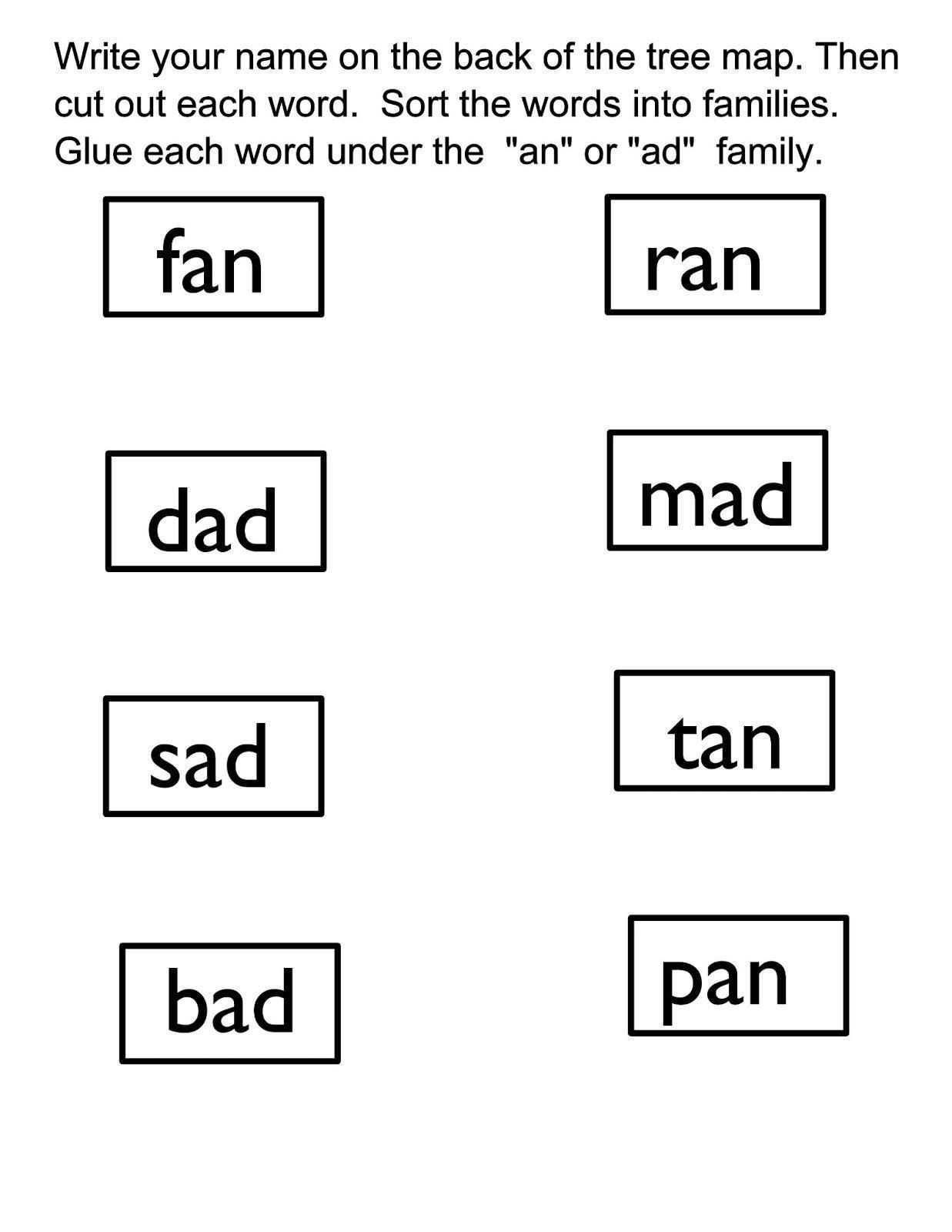 Balancing A Checkbook Worksheet for Students with Word Family Worksheet Image Collections Worksheet for Kids In English