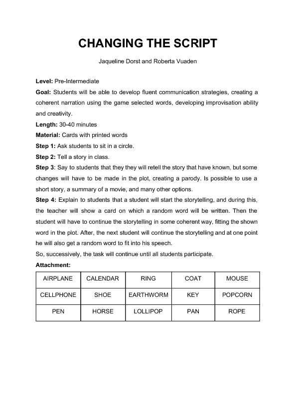 Basic Conversation Skills Worksheets Along with 286 Free Role Playing Games Worksheets