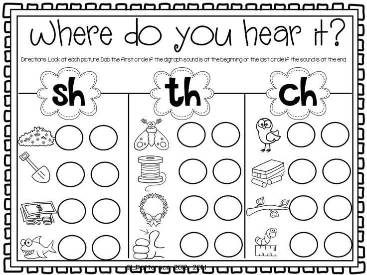 Blends and Digraphs Worksheets or 110 Best School Literacy Phonics Digraphs Images On Pinterest
