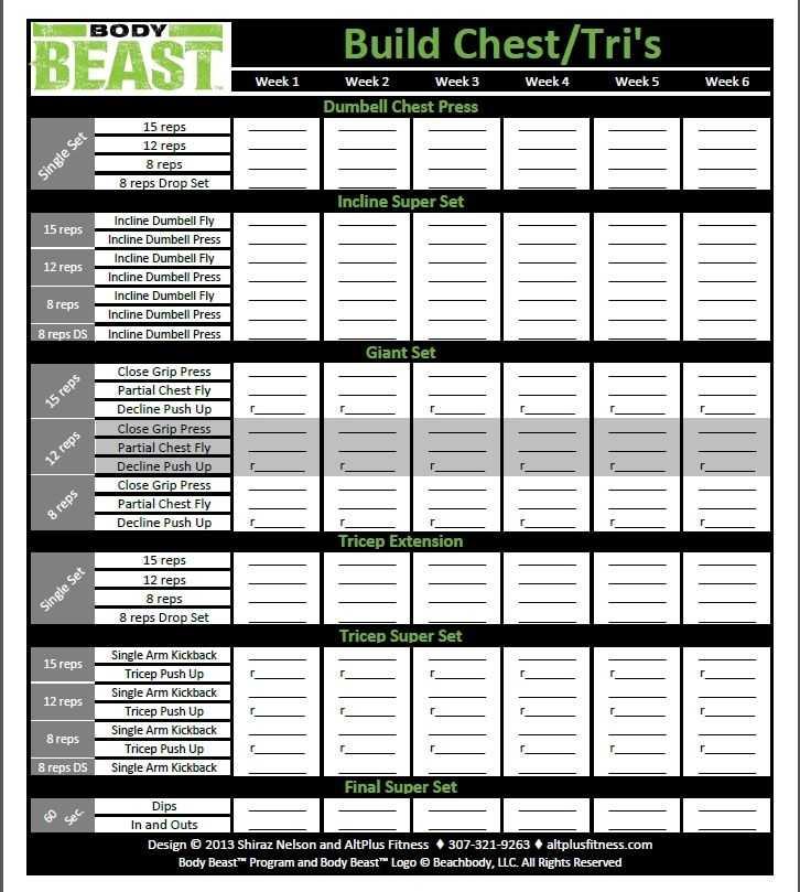 Body Beast Cardio Worksheet Also 32 Best Body Beast Beach Body Images On Pinterest
