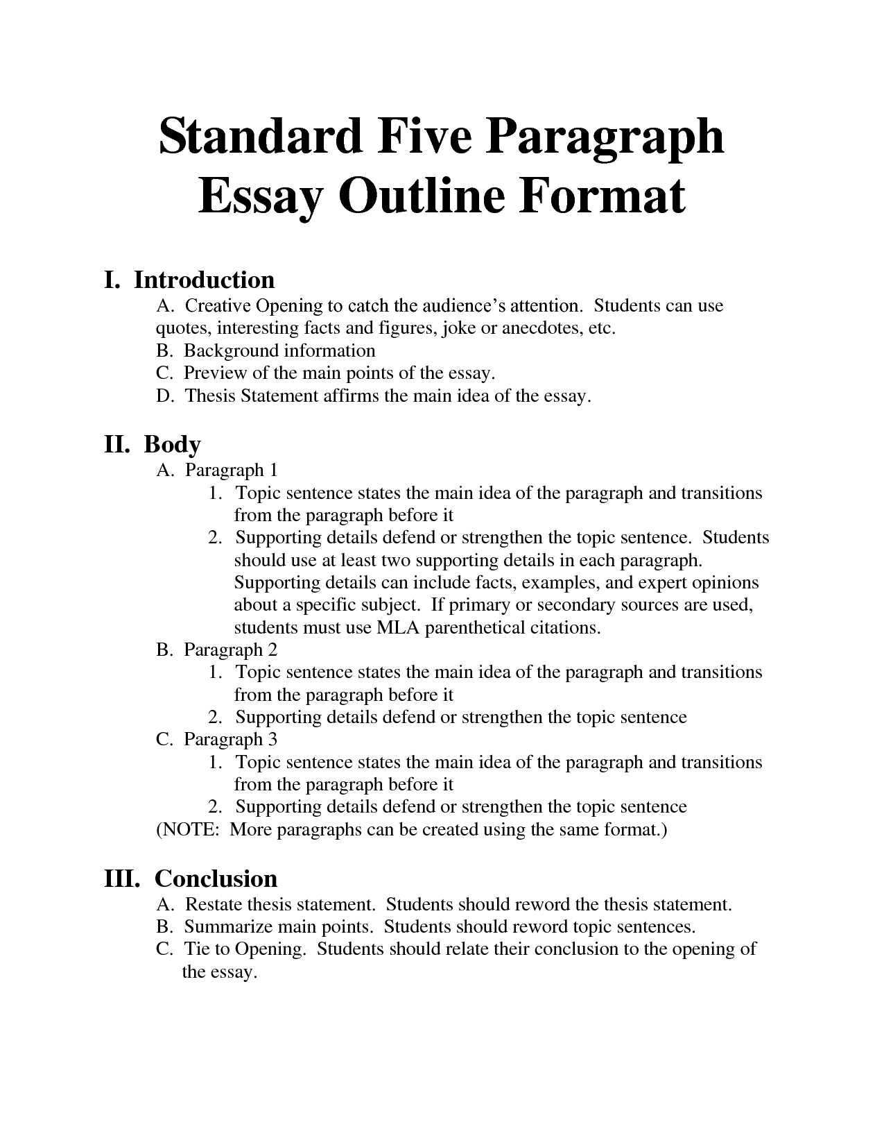 Bowling for Columbine Worksheet Answers Along with Type A Essay Standard Essay format Bing Images Essays Homeschool