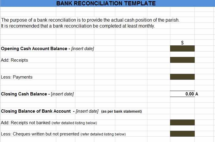 Checking Account Reconciliation Worksheet together with Bank Reconciliation Example