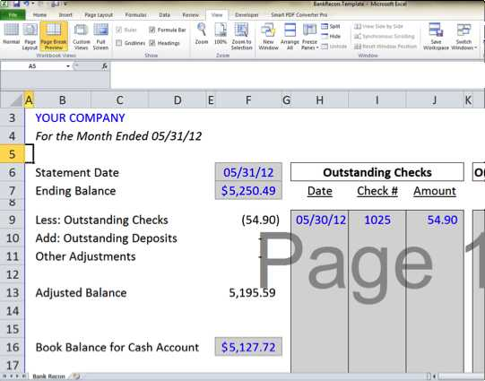 Checking Account Reconciliation Worksheet with Bank Reconciliation Template 5 Easy Steps to Balance Your Accounts