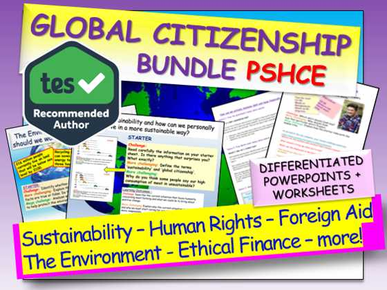 Citizenship In the World Worksheet Answers Also Global Citizenship by Ec Resources Teaching Resources Tes