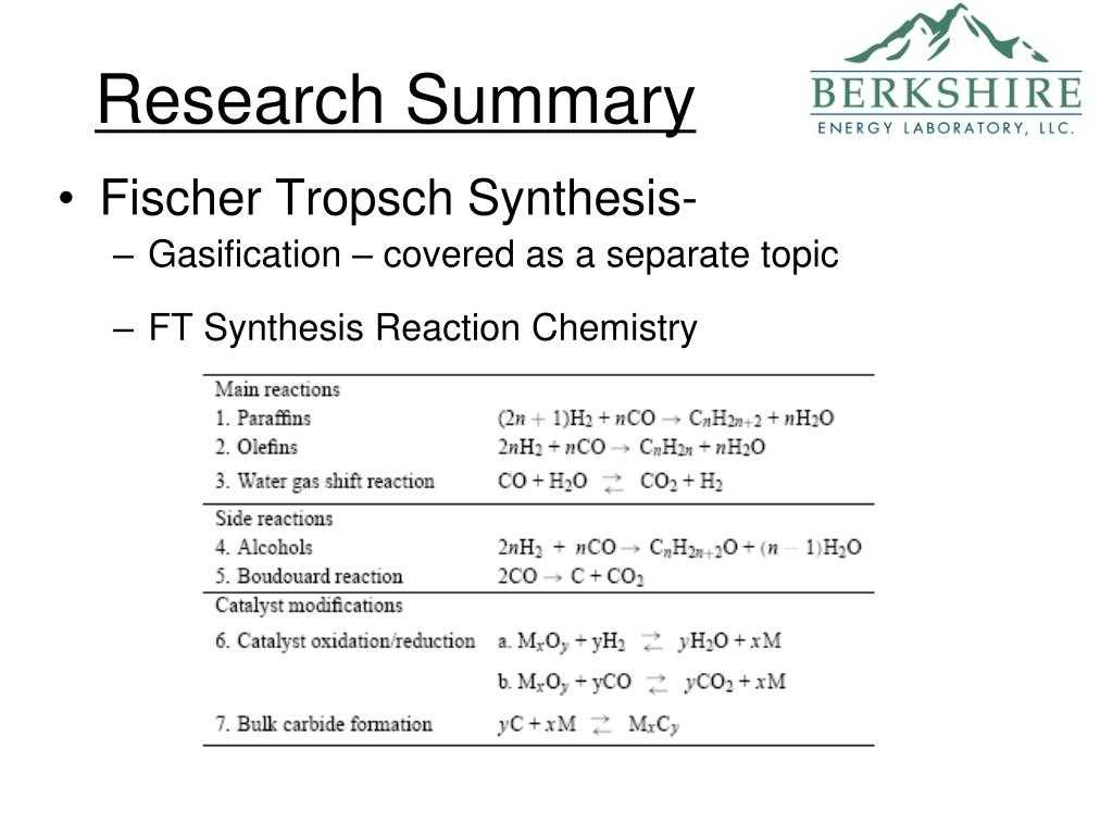 Classification Of Chemical Reactions Worksheet Answers or Fischertropsch Chemistry Bing Images