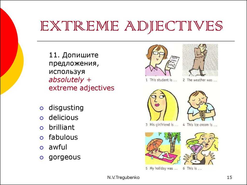 Comparative and Superlative Adjectives Worksheet or something to Eat Online Presentation