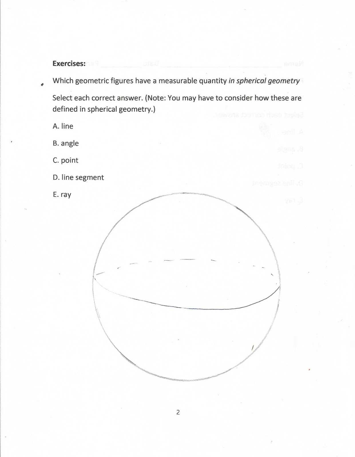 Conditions for Parallelograms Worksheet or Geometry Mon Core Style May 2016