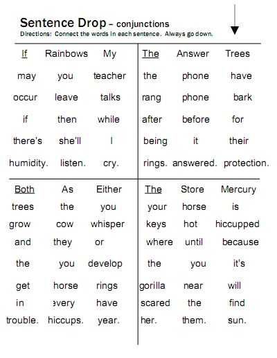 Correlative Conjunctions Worksheets with Answers as Well as 49 Best Conjunctions Images On Pinterest