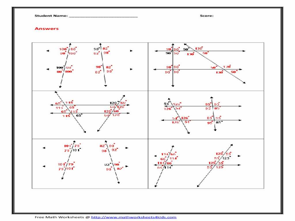 Crash Course astronomy Worksheets together with Angle Relationships Worksheets Worksheet Math for K