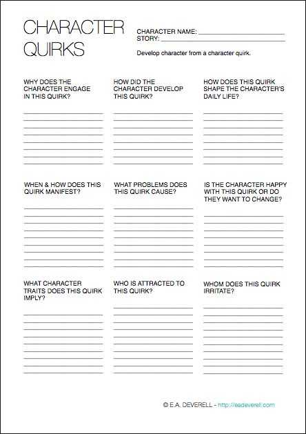 Creative Writing Worksheets with 8 Best Charactere Images On Pinterest
