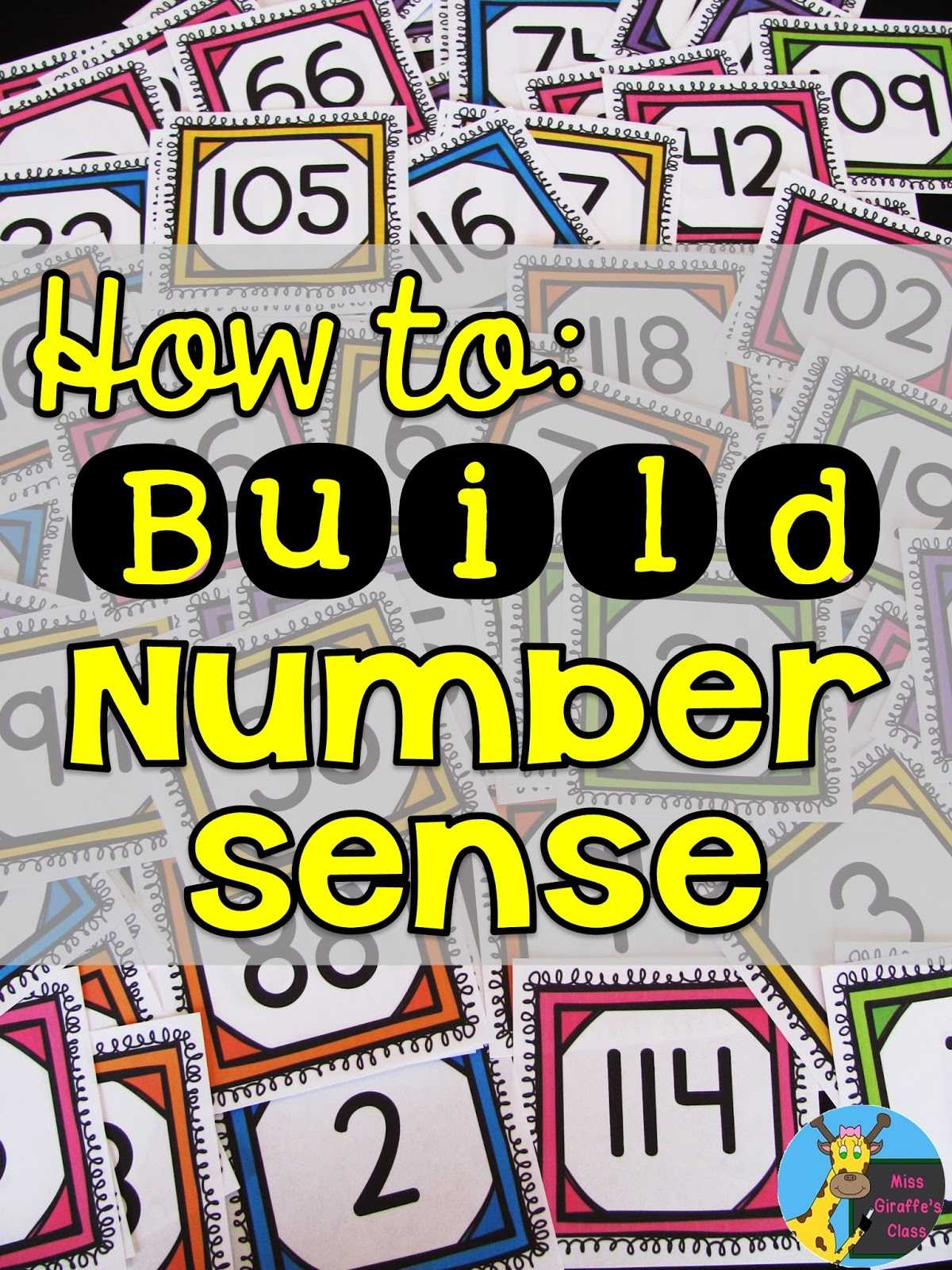 Cut and Paste Worksheets for Kindergarten Along with Miss Giraffe S Class Building Number Sense In First Grade