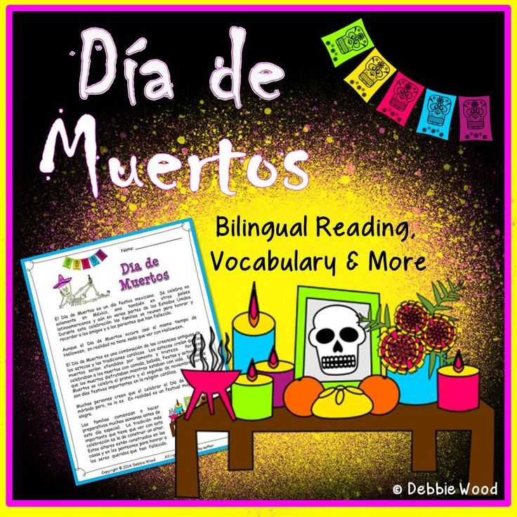 Dia De Los Muertos Worksheet Answers with 112 Best Celebrations El D­a De Los Muertos Images On Pinterest