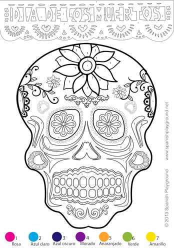 Dia De Los Muertos Worksheet or Day Of the Dead In Mexico Dia De Los Muertos by Sashavis