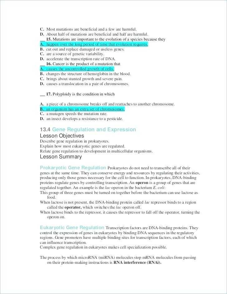 Dna Mutations Worksheet Answer Key Also Mutations Worksheet Key Gallery Worksheet Math for Kids