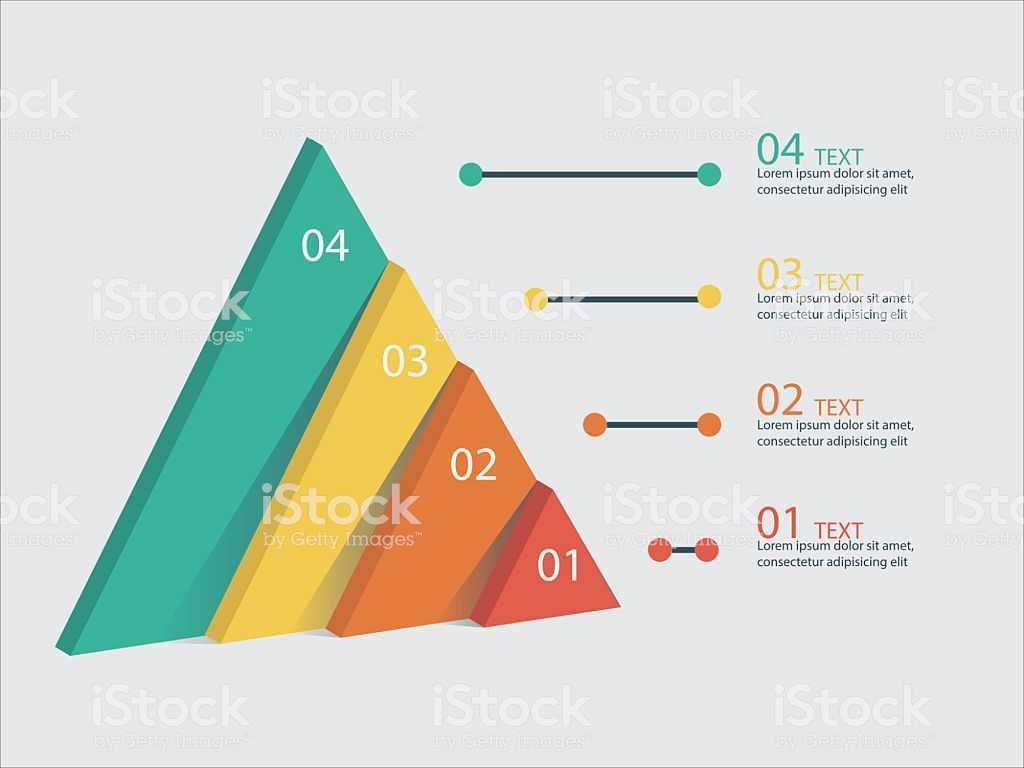 Energy Pyramid Worksheet Along with Marketing Pyramid Vector Infographic Stok Vektr Sanat and Ak