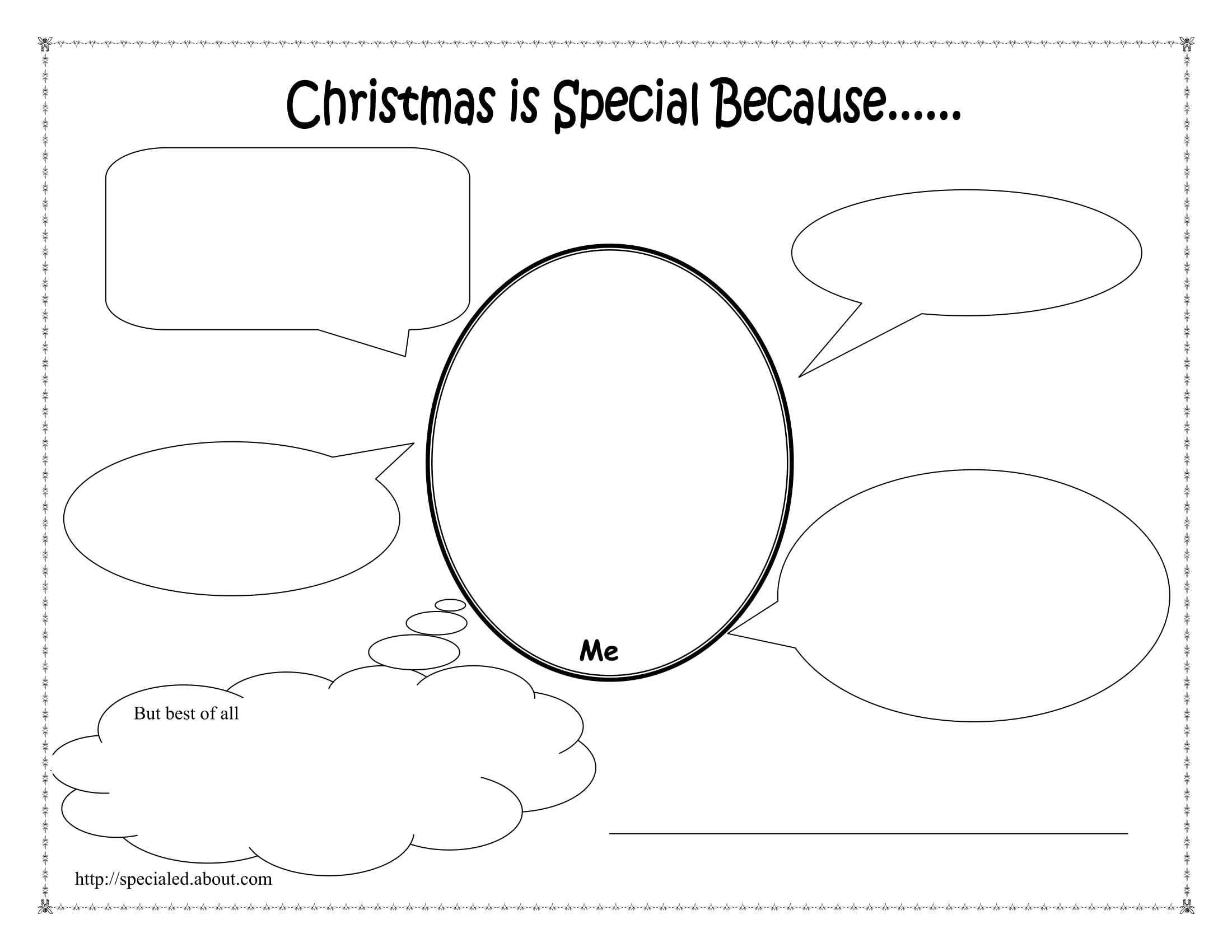 Fill In the Unit Circle Worksheet or Christmas Activities Worksheets and Lesson Plans