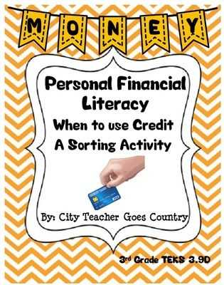 Financial Literacy Worksheets or 28 Best Texas Financial Literacy New Teks In Upper Elementary 4th