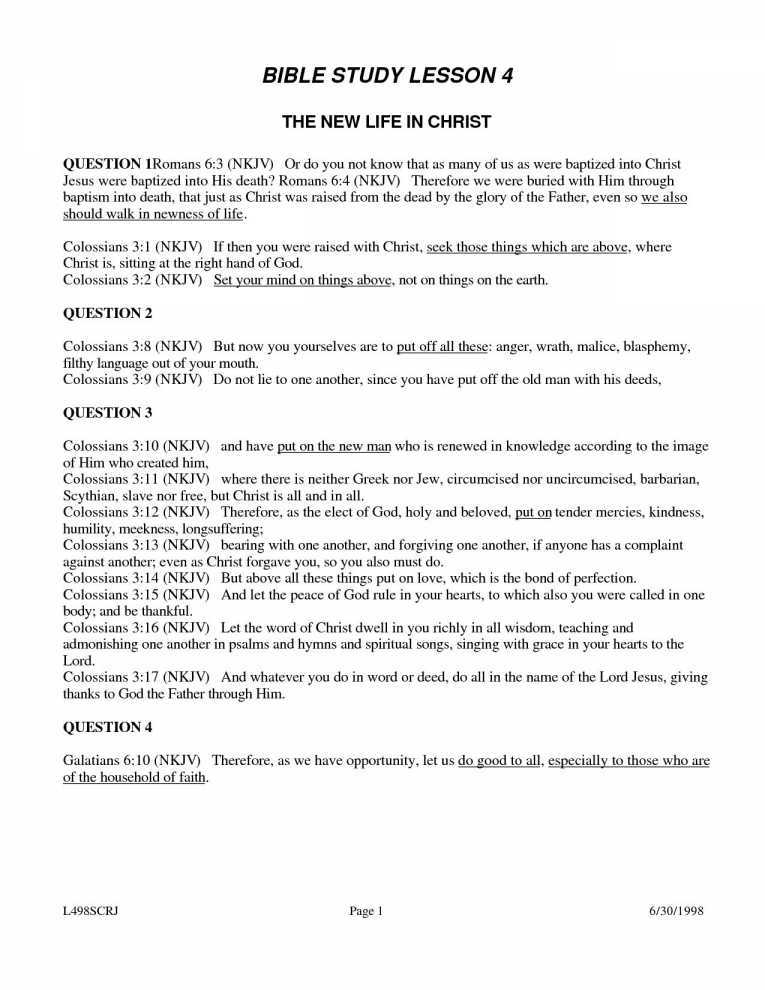 Free Youth Bible Study Worksheets as Well as Free Printable Youth Bible Study Lessons World Of Printables & Menu