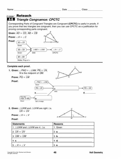 Geometry Cpctc Worksheet Answers Key Along with Worksheets 52 Lovely Congruent Triangles Worksheet High Definition