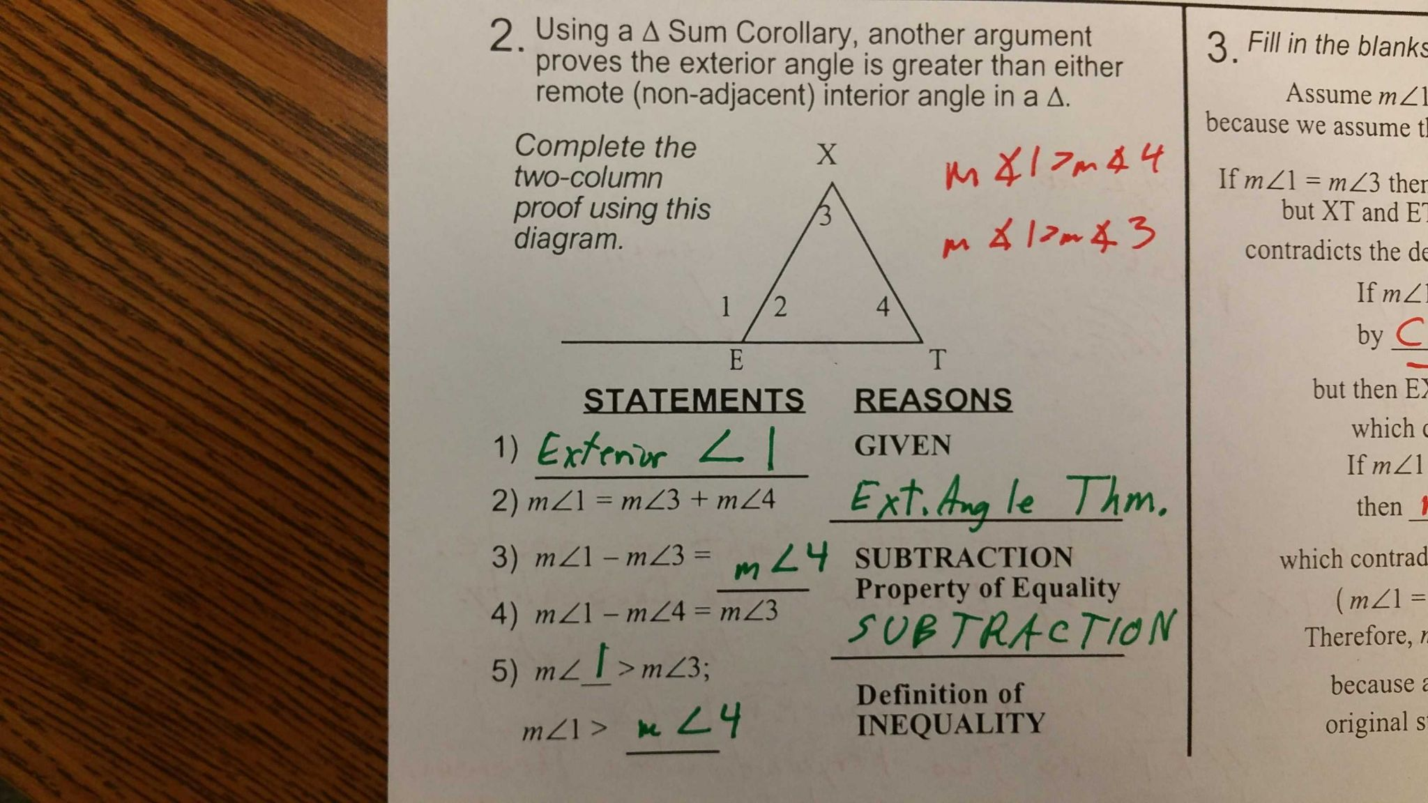 Geometry Worksheet Congruent Triangles Sss and Sas Answers or Gebhard Curt G S