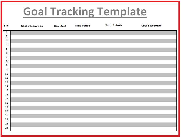 Goal Tracking Worksheet or Goal Tracking Template Student Goal Setting Great for Slcs This