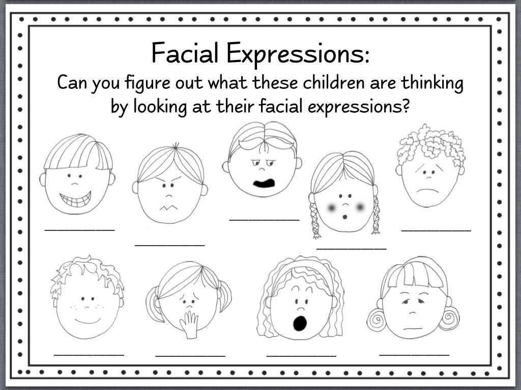 Grade 3 English Worksheets and Facial Expressions Worksheets Bing Images