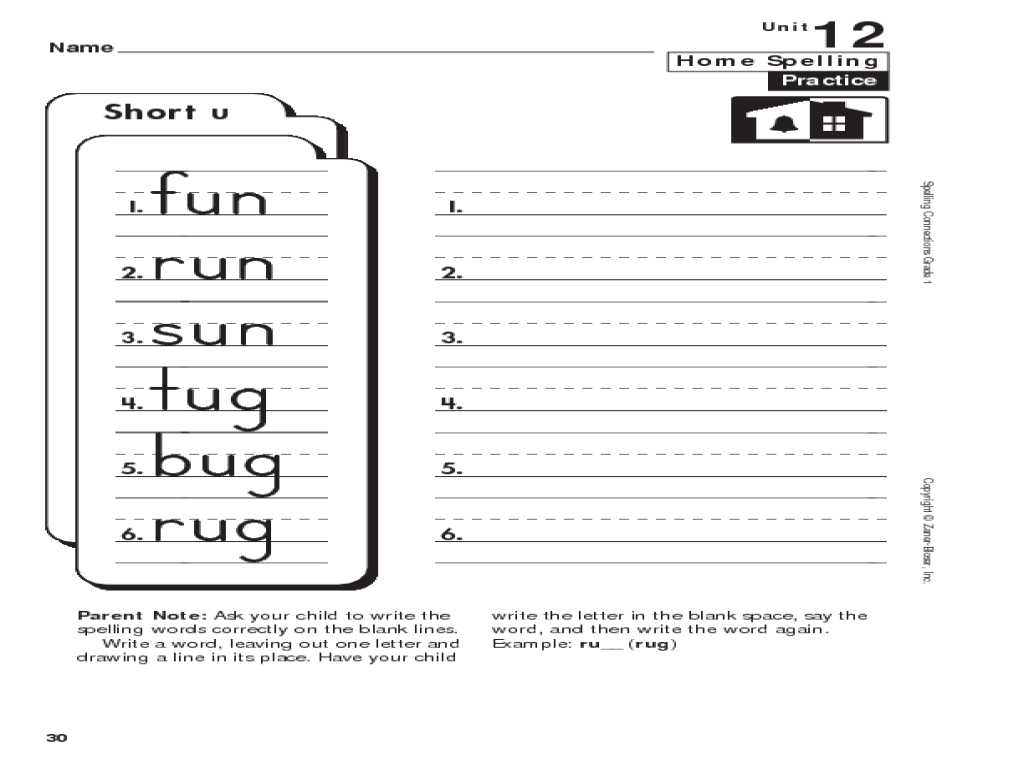 Grade 3 English Worksheets with All Worksheets Short U Worksheets Free Images Free Printab