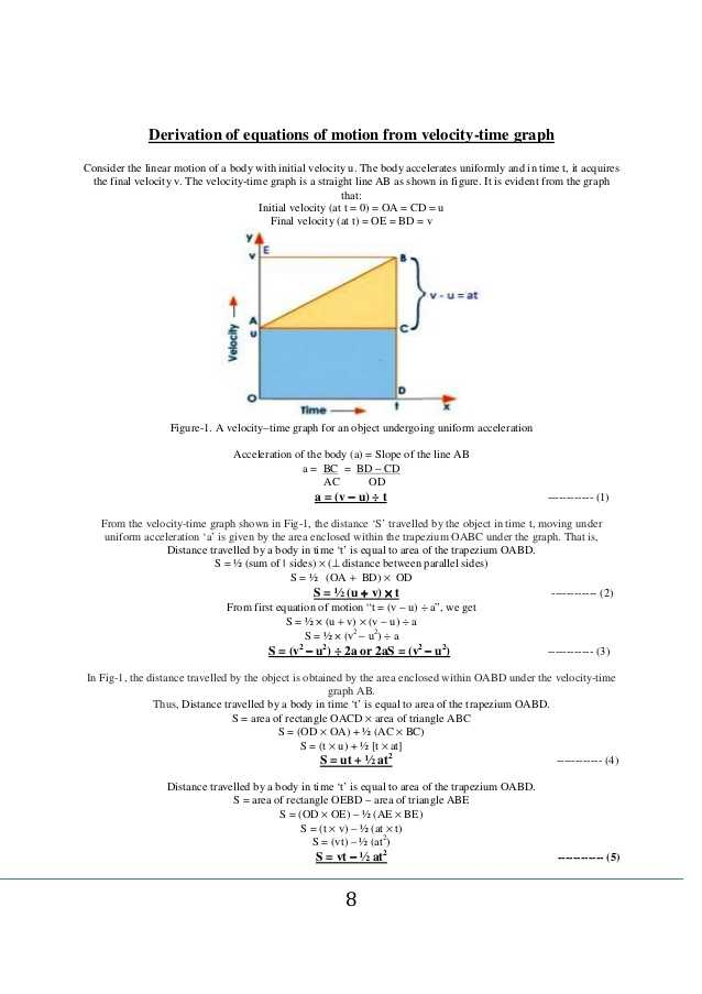 Graphical Analysis Of Motion Worksheet Answers and whole Procedure Of Equations Of Motion