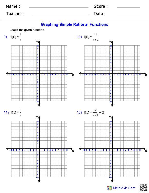 Graphing Rational Functions Worksheet Answers Also Best Graphing Rational Functions Worksheet Unique Pythagorean