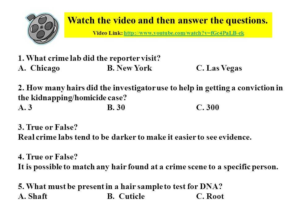 Hair and Fiber Evidence Worksheet Answers Also Honors forensic Science Ppt