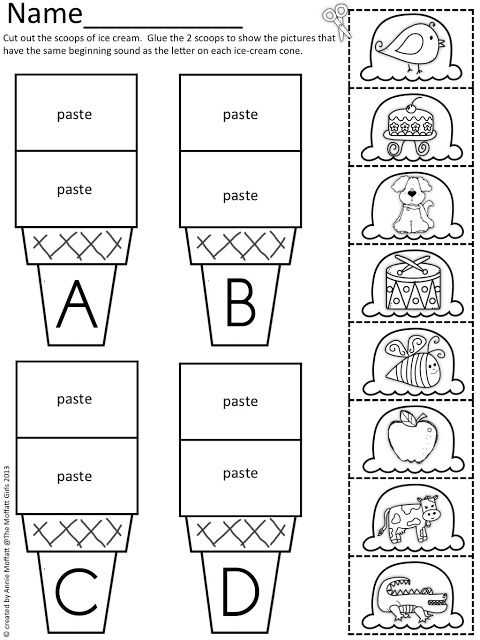 Initial sounds Worksheets Also 57 Best Worksheets Images On Pinterest