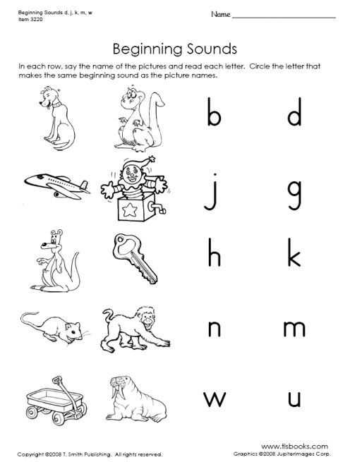 Initial sounds Worksheets together with Snapshot Image Of Beginning sounds D J K M and W Worksheet