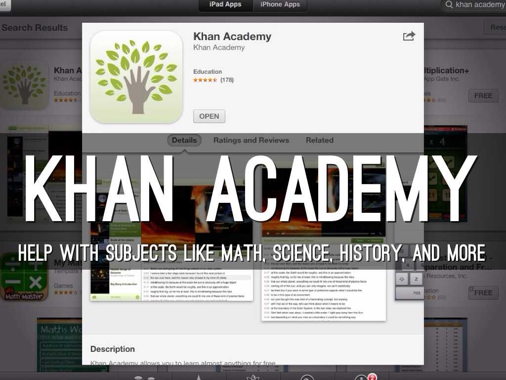 Khan Academy Worksheets with Applications by Sandra Mead