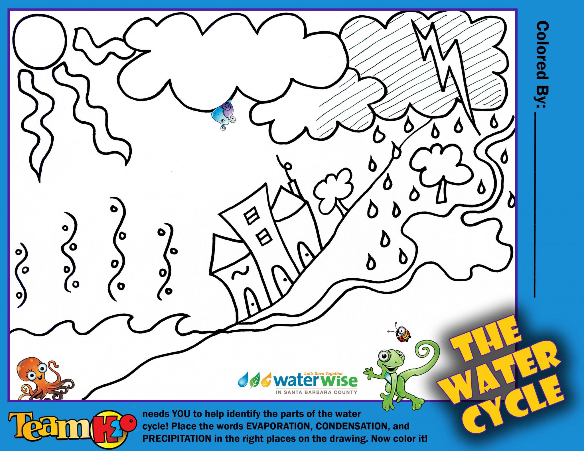 Label the Water Cycle Worksheet with the Water Cycle Worksheet Pdf Gallery Worksheet Math for Kids