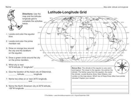 Latitude and Longitude Worksheets 7th Grade together with 29 Best Maps Images On Pinterest