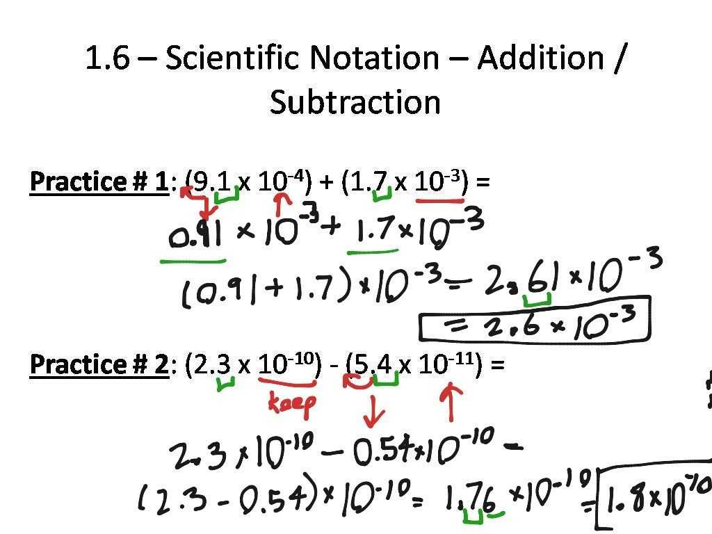 Linear Programming Worksheets with solutions with Scientific Notation Practice Worksheet with Answers Super