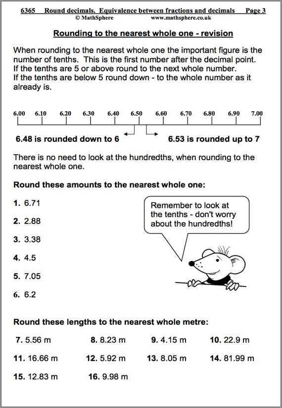 Math Decimal Worksheets Also 13 Math Decimal Worksheets American Math