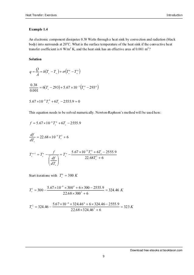 Methods Of Heat Transfer Worksheet Answers or Heat Transfer Exercise Book