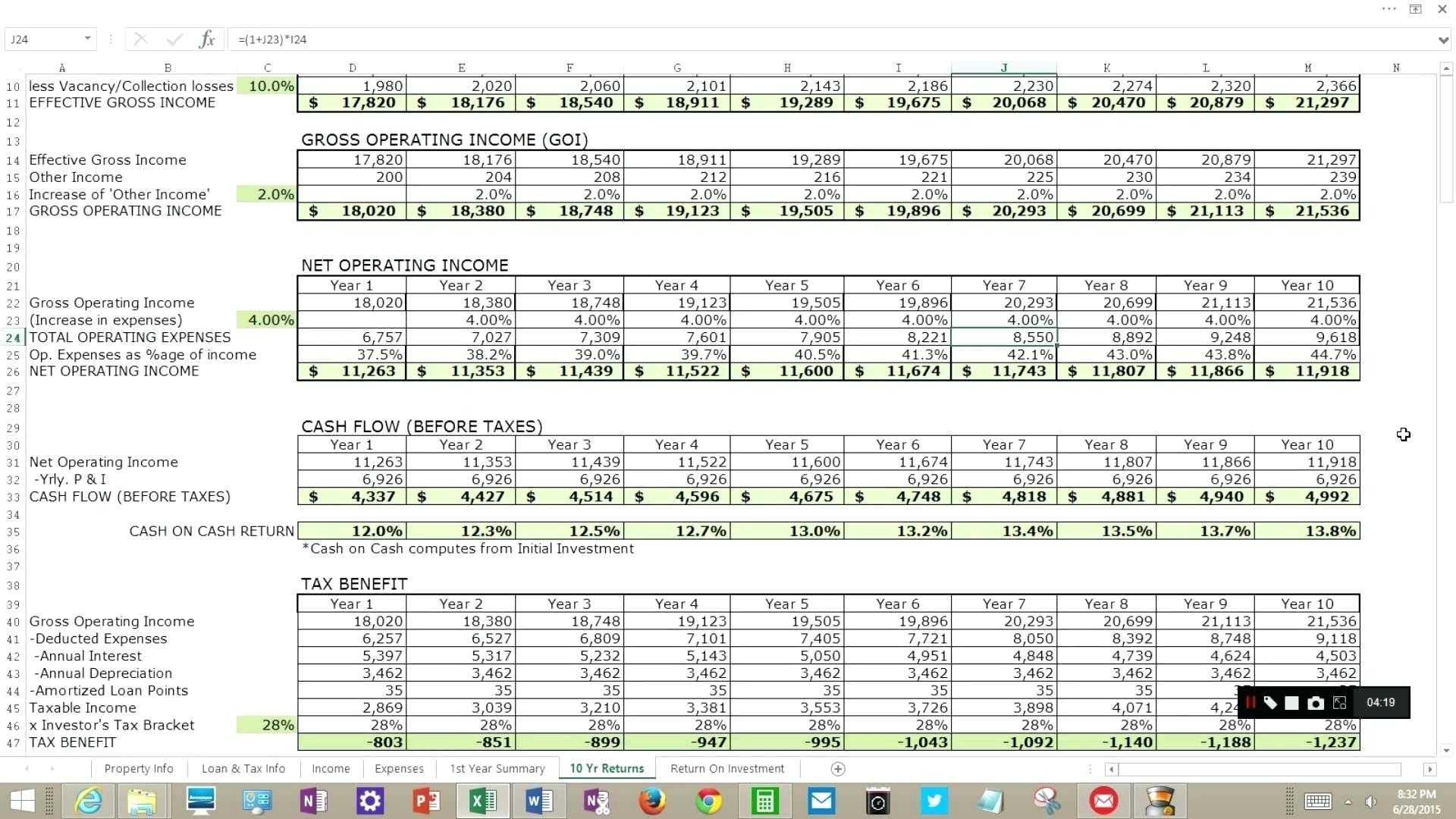 Name that Investment Worksheet or Spreadsheet Fresh Real Estate Investment Analysis Spreadsheet Hi Res