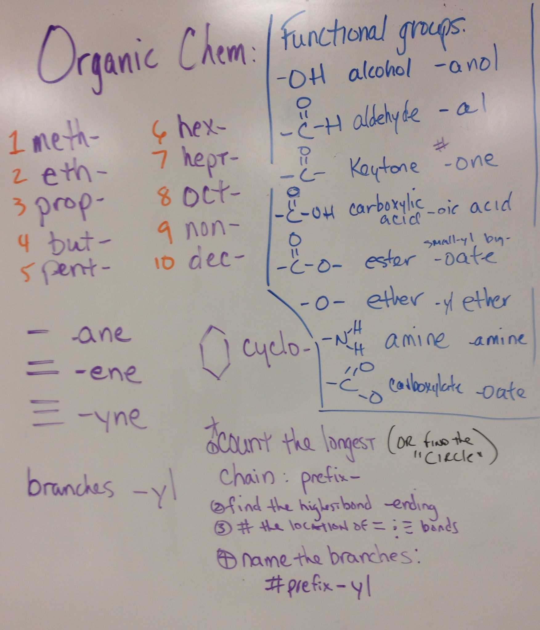 Nomenclature Worksheet 1 together with organic Chemistry Nomenclature Chart Pin organic Functional Groups