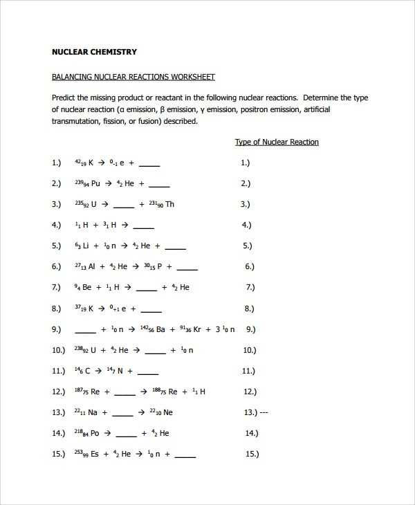 Nuclear Equations Worksheet with Answers Along with Nuclear Chemistry Worksheet Answers Image Collections Worksheet