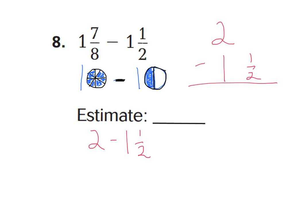 Order Of Operations with Fractions Worksheet Along with Kindergarten Estimating Addition and Subtraction Worksheets