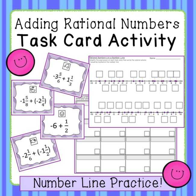 Ordering for Rational Numbers Independent Practice Worksheet Answers and 8 Best Rational Numbers Images On Pinterest