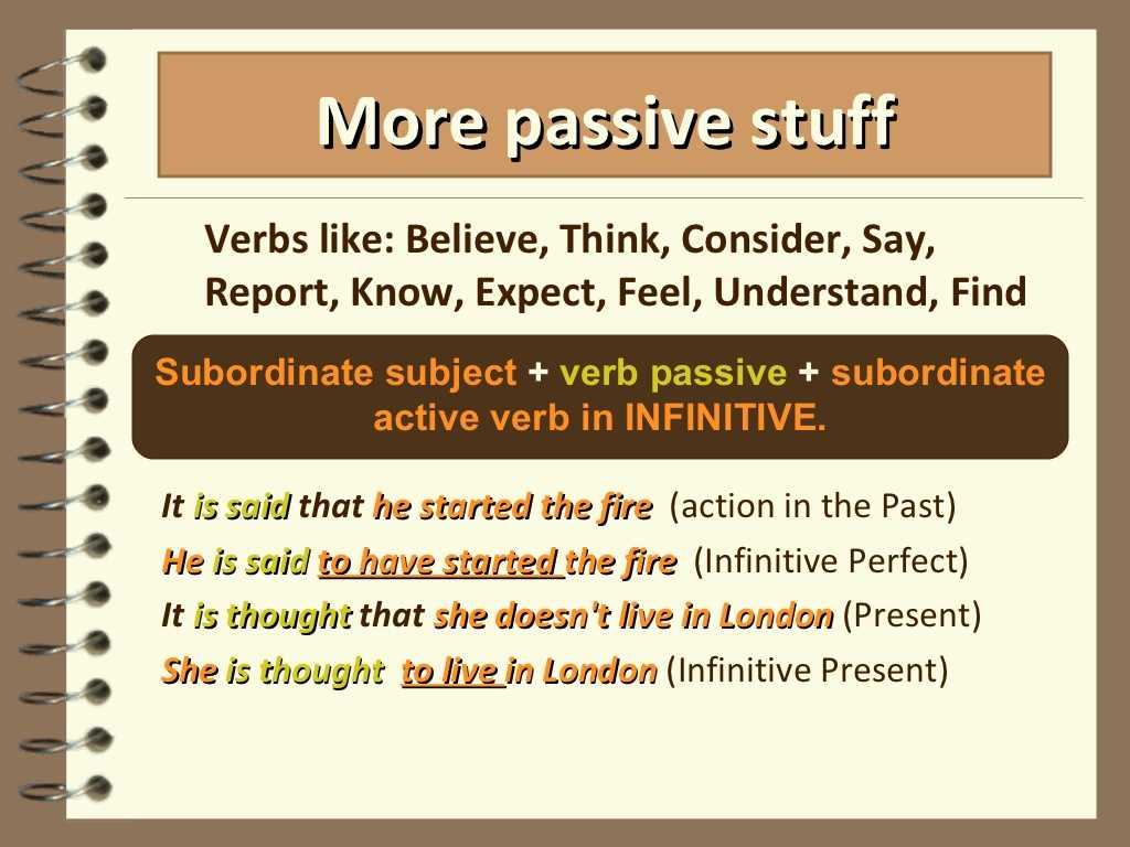 Passive Voice Worksheets or Passive Voice