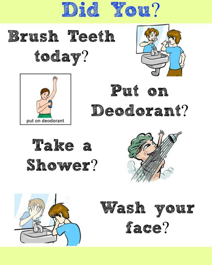 Personal Hygiene Worksheets Middle School or 7 Best Hygiene 101 Images On Pinterest
