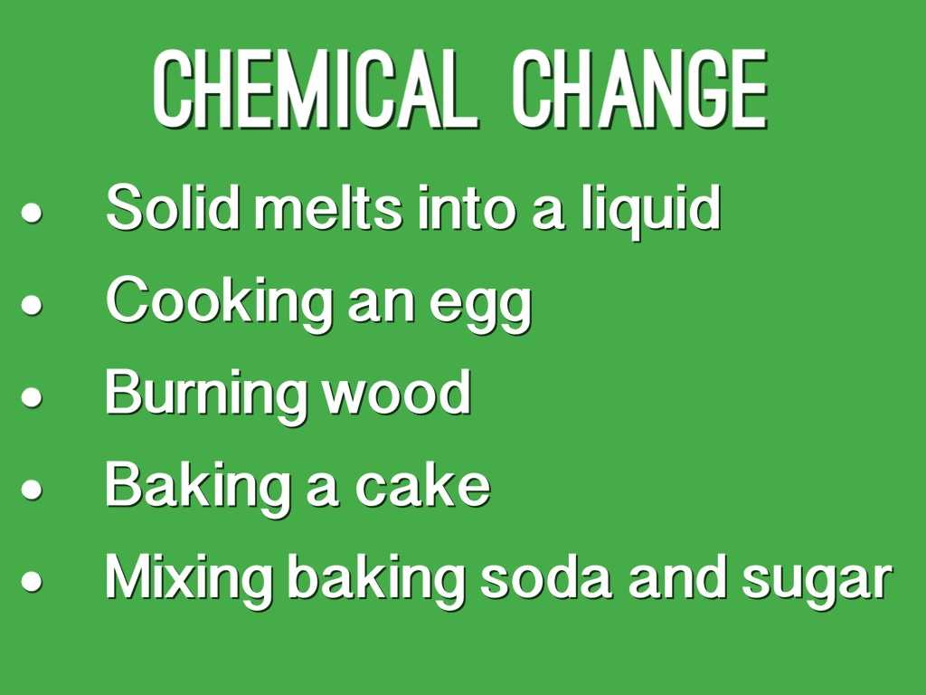 Physical and Chemical Properties and Changes Worksheet Also Physical Change Vs Chemical Change by Eli A by Matt